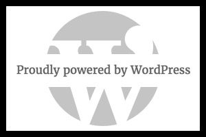 Proudly powered by wordpress