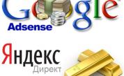 Заработок на контекстной рекламе. Яндекс Директ и Google Adsense