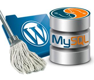 как очистить базу данных mysql