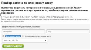 зарегистрировать домен в зоне ru