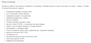 сервис TopInspector