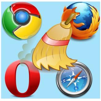 как очистить кэш память браузера