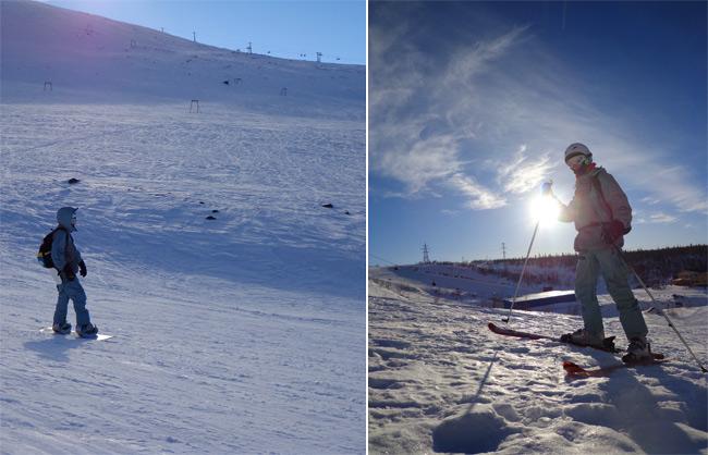 Я на доске и на лыжах