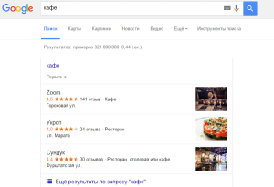внесение в Гугл Мой Бизнес