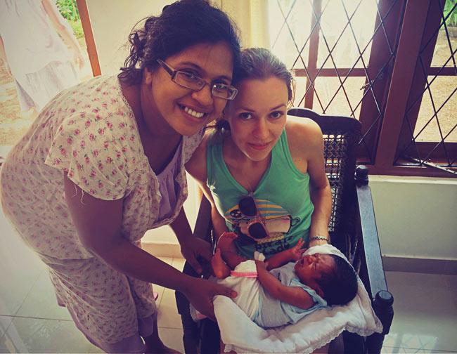 ланкийский малыш