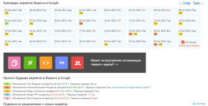 апдейты выдачи Яндекса