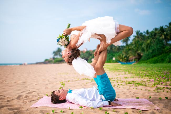 свадебная акройога
