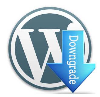 откатить WordPress до предыдущей версии