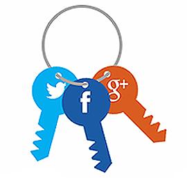 социальный замок для WordPress
