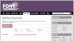 изменить шрифт в шаблоне WordPress