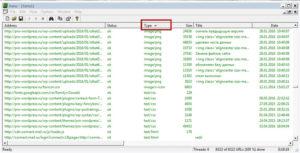 сортировать файлы