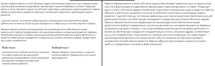 форматирование статьи