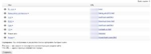 Как изменить быстрые ссылки в Яндексе?