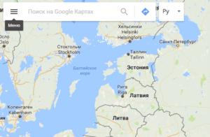 Как вставить Google Карту на сайт