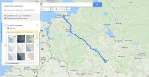 Вставка Гугл карты на сайт
