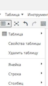 MCE Table Button: плагин для добавления таблицы на WordPress