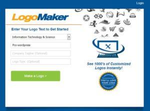 LogoMaker для создания логотипа для сайта