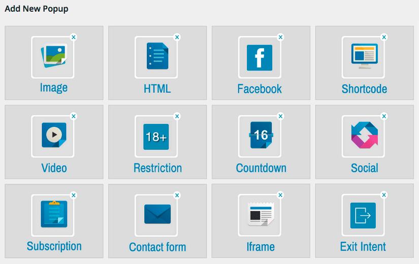 Popup окна WordPress с помощью плагина