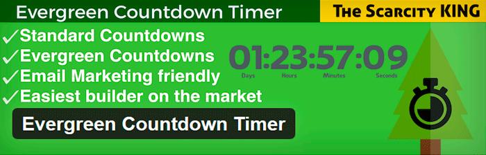 Как сделать таймер на сайте: плагин Evergreen Countdown Time