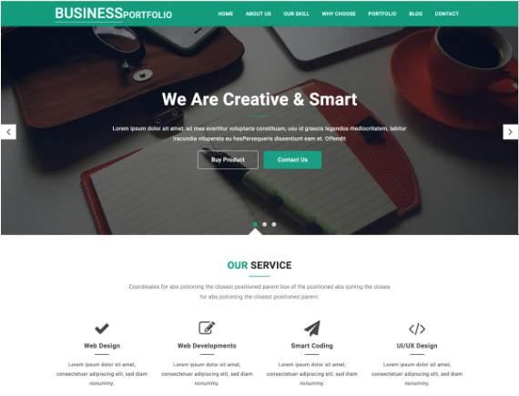 sajt-portfolio-na-wordpress-business